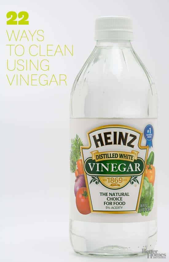 22 Ways To Clean With Vinegar