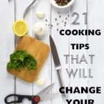 21 Time Saving Cooking Tips