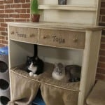 Repurposed Dresser Cat Condo