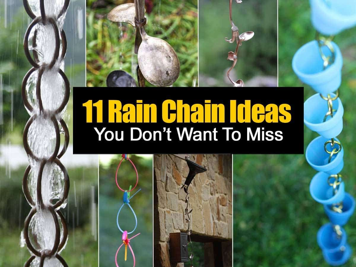 11 DIY Rain Chain Ideas