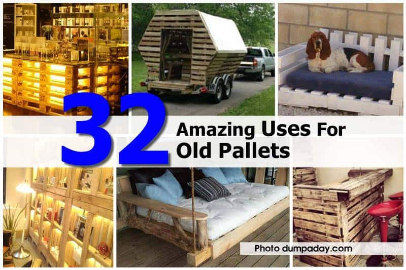Repurposed Pallet Projects (Photo Gallery)