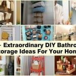 19+ Excellent DIY Bathroom Storage Ideas