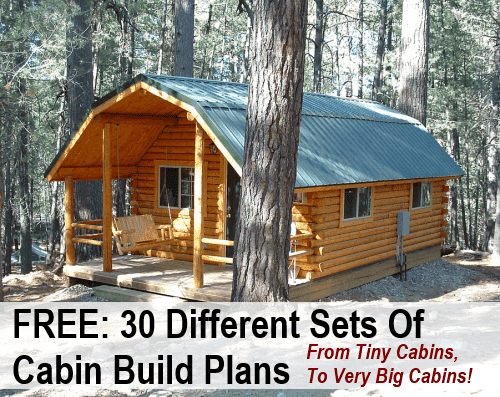 30 free diy cabin blueprints diy cozy home for Cabin blueprints free