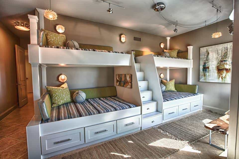 50 Terrific Bunk Bed Designs