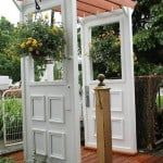Repurpose Doors And Windows In The Garden (Photo Gallery)