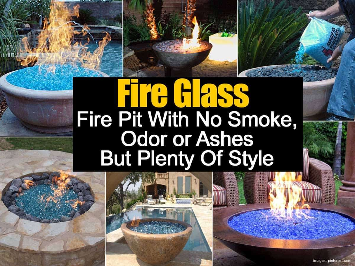 Fire Glass Fire Pits - Fire Glass Fire Pit Guide