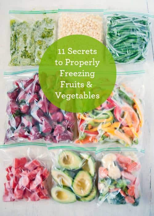 11 Secrets To Perfectly Freezed Produce