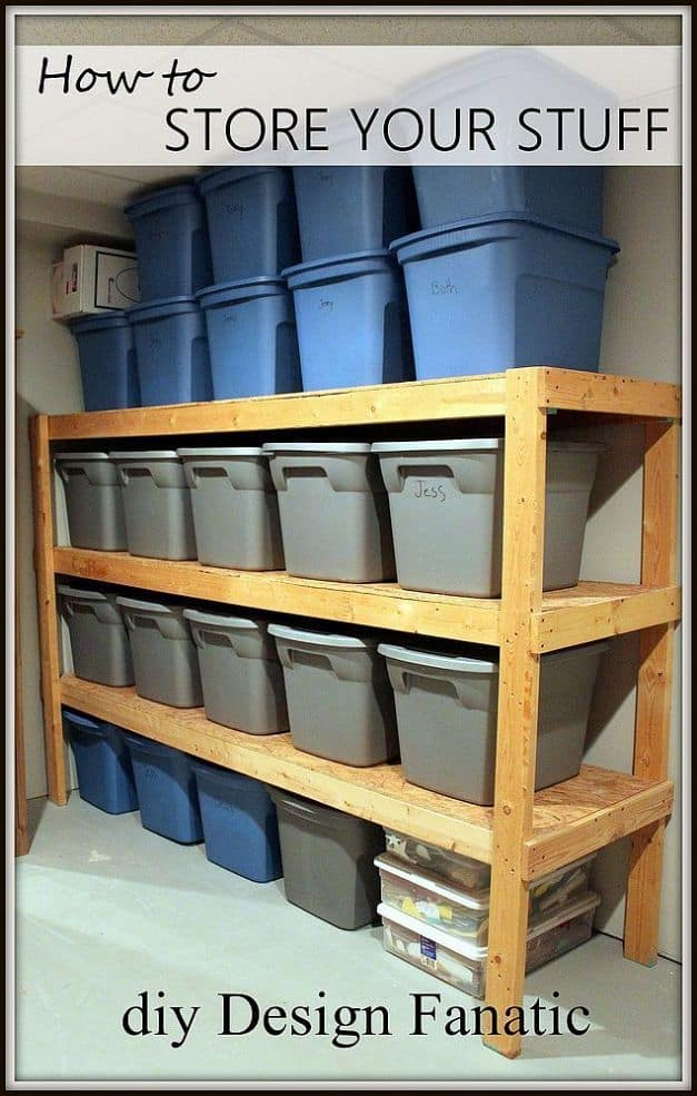 DesignFanatic u2013 DIY Storage (How To Store Your Stuff)  sc 1 st  DIY Cozy Home & How To Build The Ultimate DIY Storage Unit