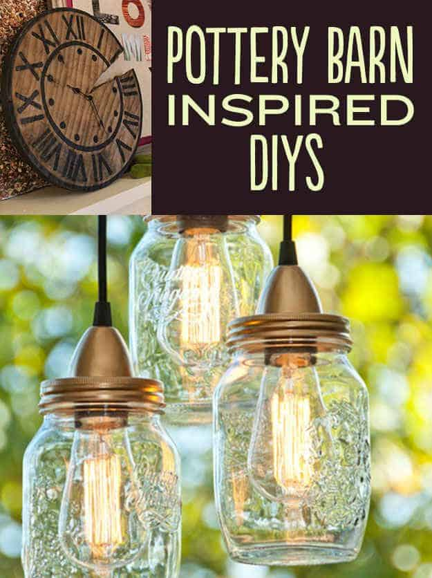 21 DIYs Inspired By Pottery Barn