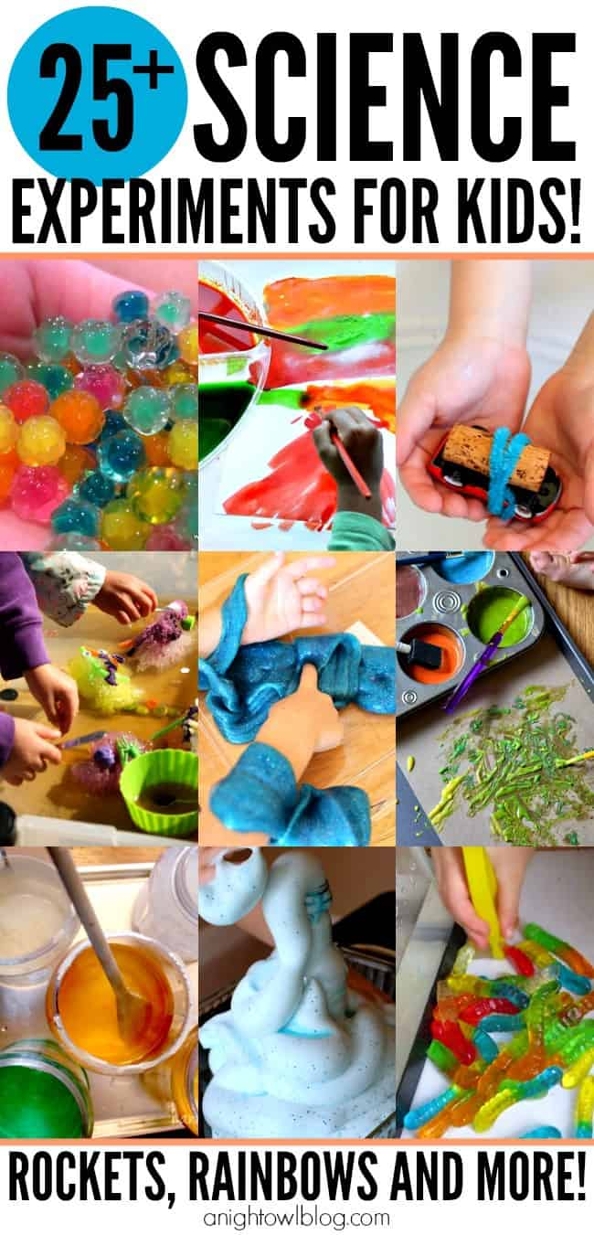 25+  Summer Science Experiments For Kids
