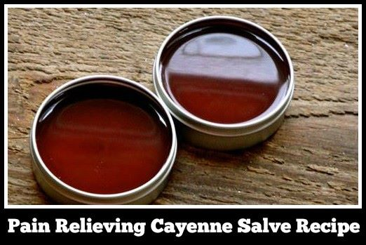 cayenne salve recipe