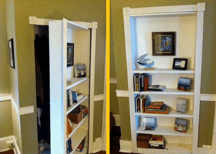 How To Build Your Own Hidden Door Bookcase