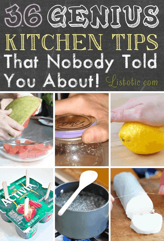 The 36 Best Kept Kitchen Secrets