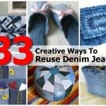 33 Ways To Repurposes Denim Jeans