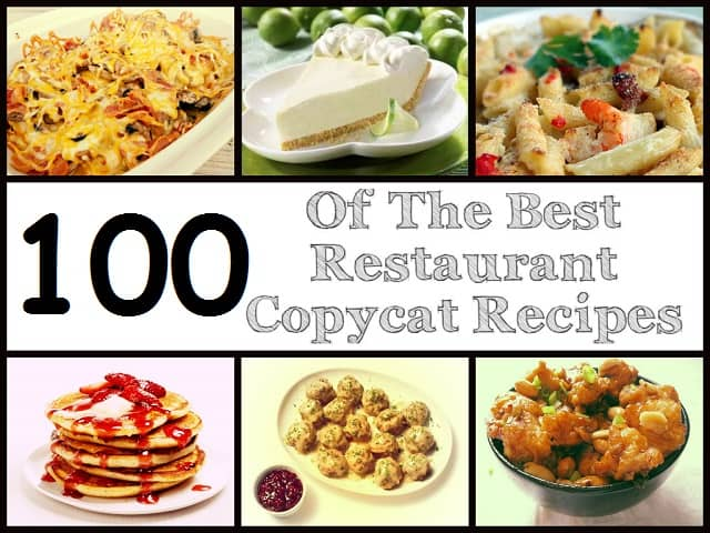 100 copycat recipes