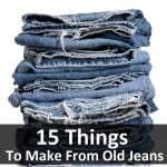 15 Repurposed Denim Jeans DIYs