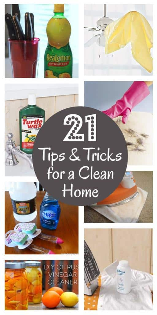 21 'Must Know' Cleaning Tips And Tricks
