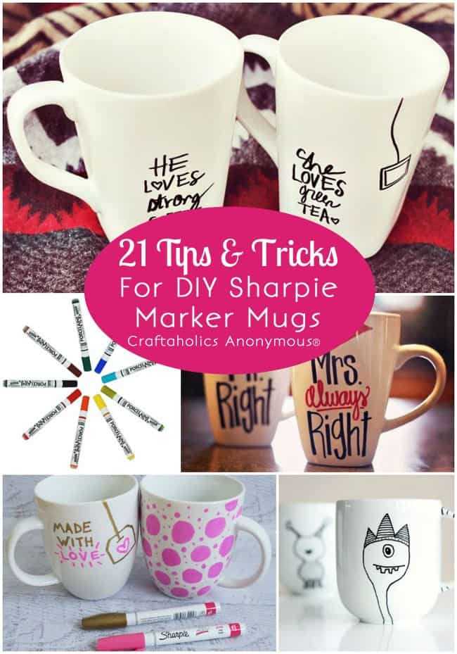 21 Tips For Sharpie Marker Cups