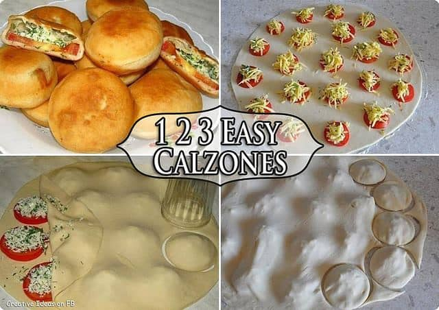 Easy Homemade Calzones