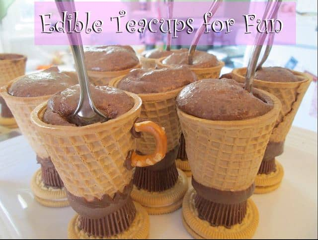 Edible Teacups Recipe