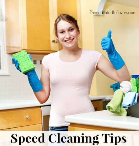 10 Practical Speed Cleaning Tips