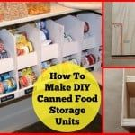 diy canned food storage