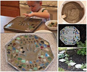 diy keepsake stepping stones