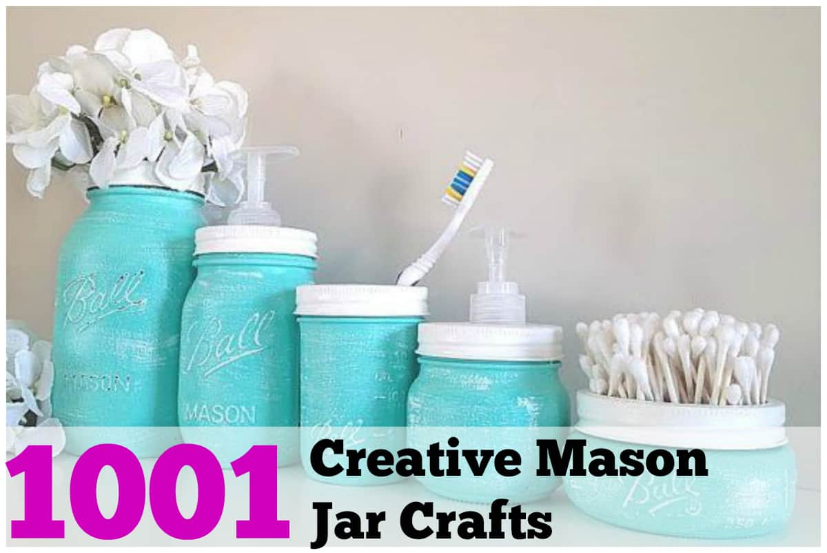 craft ideas for mason jars 1001 diy jar crafts 6206