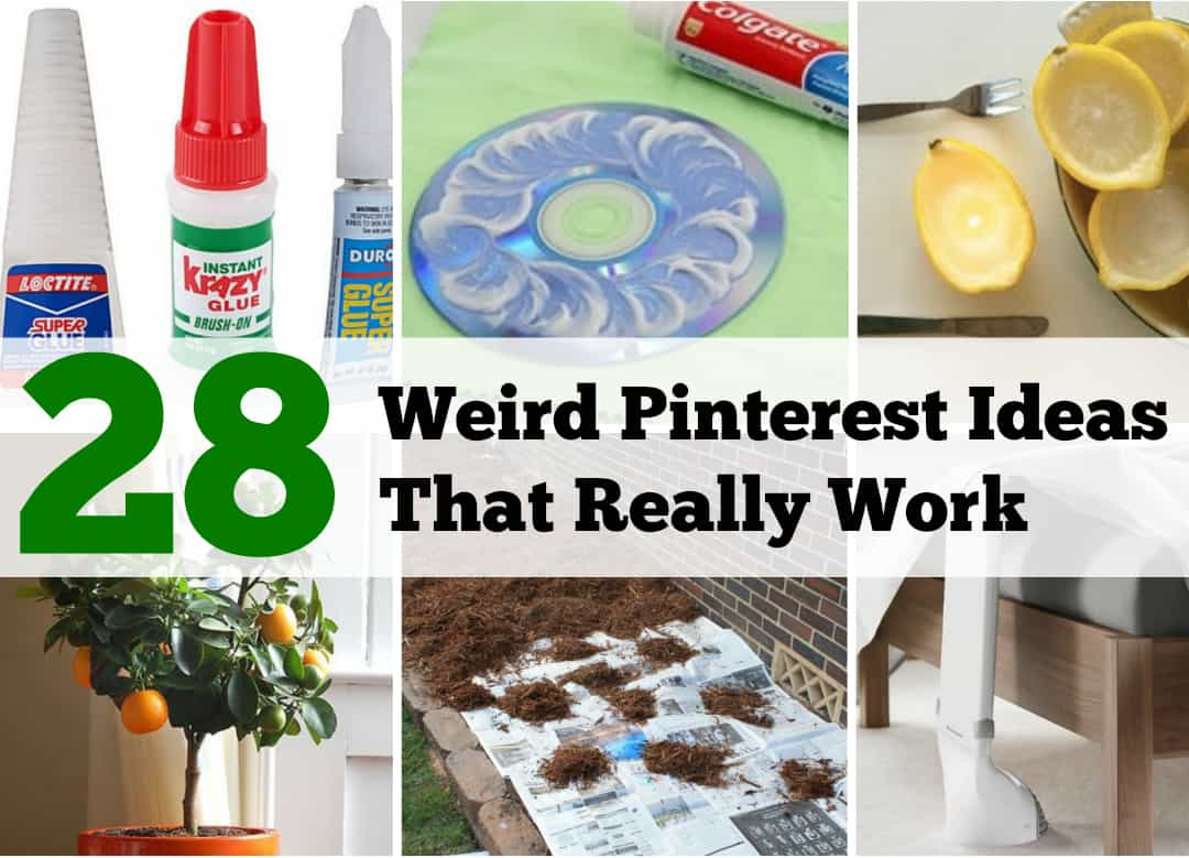 weird pinterest ideas