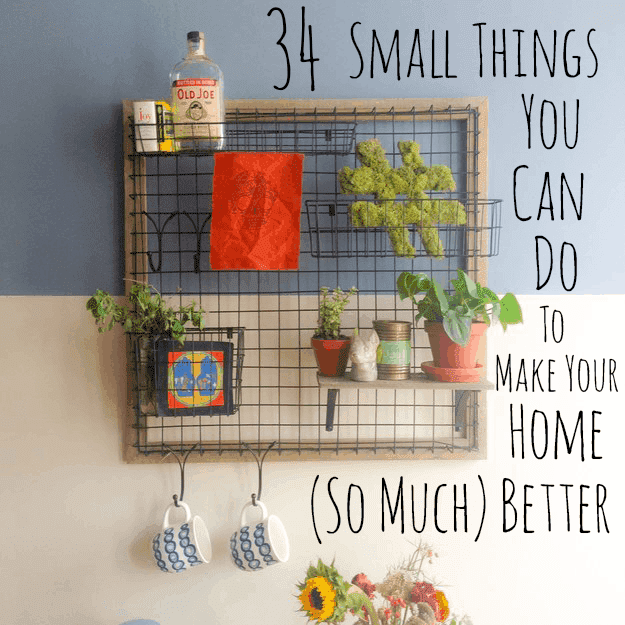 34 Small Home Makeovers Ideas To Make Your Look Amazing