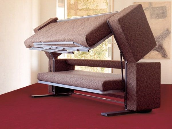 Designer Giulio Manzoni's Multifunctional Sofa Bunk Bed(Transforms In Only 12 Seconds)
