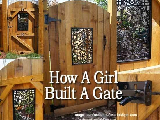 How A Girl Built A Gate