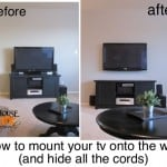 Mounting Your TV To The Wall And Hiding All The Cords