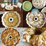 Tropical Pina Colada Monkey Bread