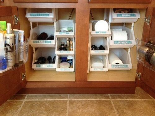 12 Sneaky Storage Tips For A Tiny Bathroom