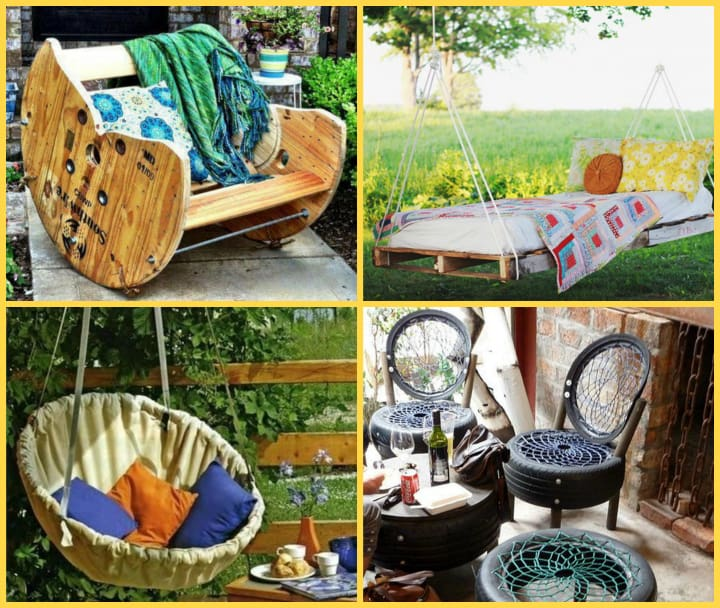 22 easy and fun diy outdoor furniture ideas diy cozy home