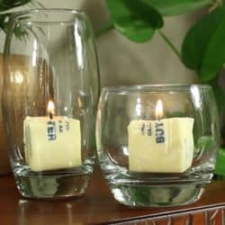 emergency butter candle