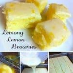 Lemony Luscious Brownies