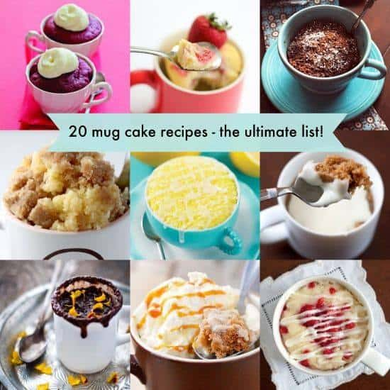 The Best 20 Mug Cake Recipes