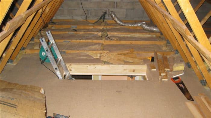 What This Man Did To His Attic Is Unbelievable. I Can't Believe It Actually Worked.