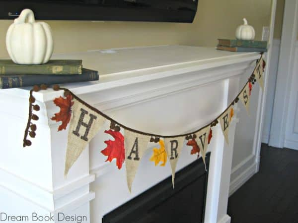 10 DIY Burlap Fall Decorations