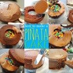 Pinata Cake With M&Ms