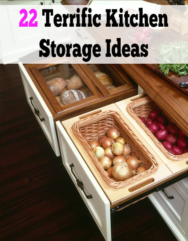 48 Terrific Kitchen Storage Ideas Enchanting Kitchen Storage Ideas