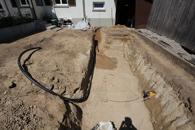conduit-placed-in-backyard