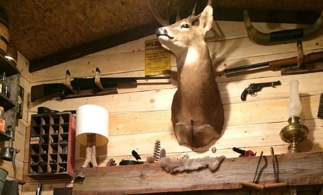 Guy Builds A Man Cave That Looks Like It\'s Straight From The Wild ...