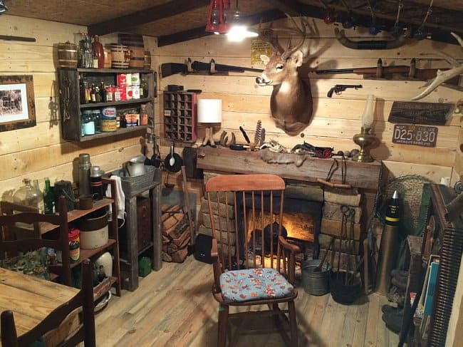 Guy Builds A Man Cave That Looks Like It S Straight From