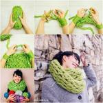Infinity Scarf In 30 Minutes