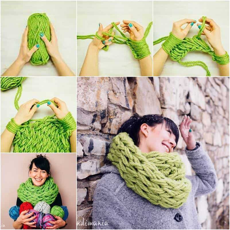 The 30 Minute Infinity Scarf (Tutorial)