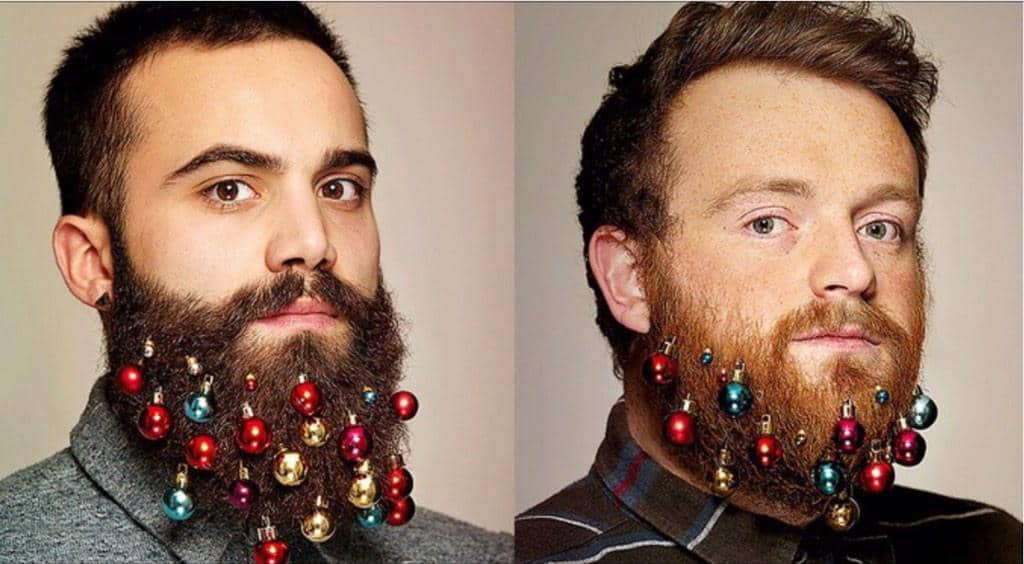 Jingle Beards: The New Christmas Fashion Trend