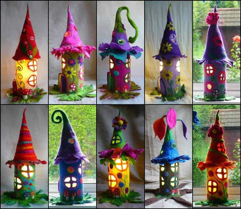 Paper Fairy Houses